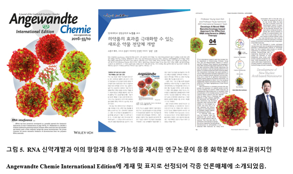 Angewandte Chemie International Edition 게재 및 언론매체 소개