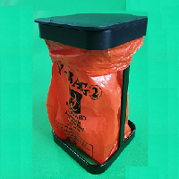 Table Top Waste Tip Bin for Bioharzard bag