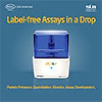 Label-frree Assay in a Drop
