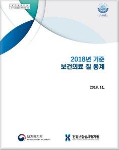 2018년 기준 보건의료 질 통계