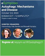 키스톤 심포지엄 – 오토파지: 메카니즘과 질병