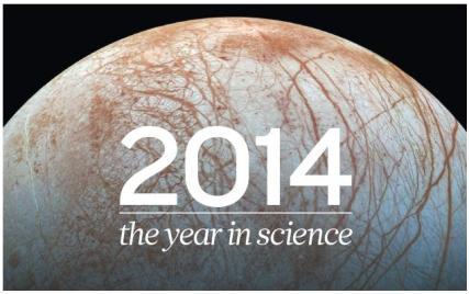 Nature가 바라본 2014년 과학계