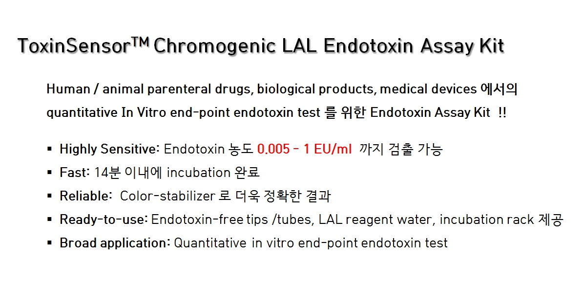 Endotoxin assay kit