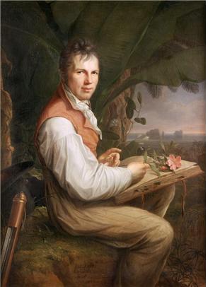 Alexander von Humboldt (oil painting by Friedrich Georg Weitsch, 1806)