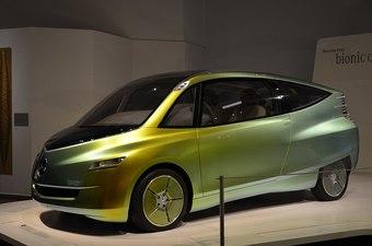 의생학을 자동차 개발에 이용한 벤츠의 바이오닉 카