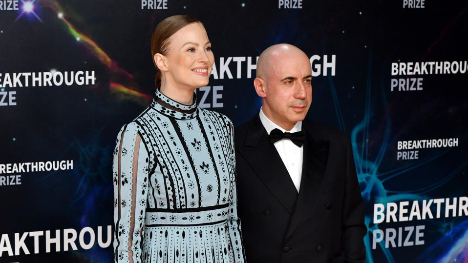 Julia Milner and Yuri Milner founded the Breakthrough Prizes