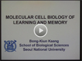 Molecular Cell Biology of Learning and Memory