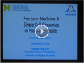[Ilchun Memorial Lecture] Precision Medicine and Single Cell Genomics in Population Scale
