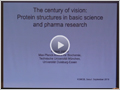 [WOOJUNGBIO Nobel Lecture] The Century of Vision: Protein Structures in Basic Science and Pharma Research