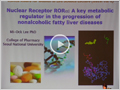 [KSMCB Award for Women in Life Science Lecture] Nuclear Receptor RORa: A key metabolic regulator in the progression of nonalcoholic fatty liver diseases